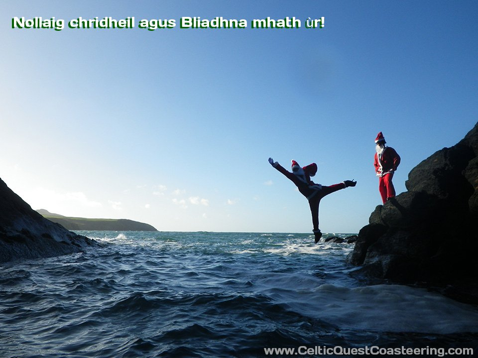 Planning an Easter holiday in Pembrokeshire? Why not try Coasteering when it's a bit warmer
