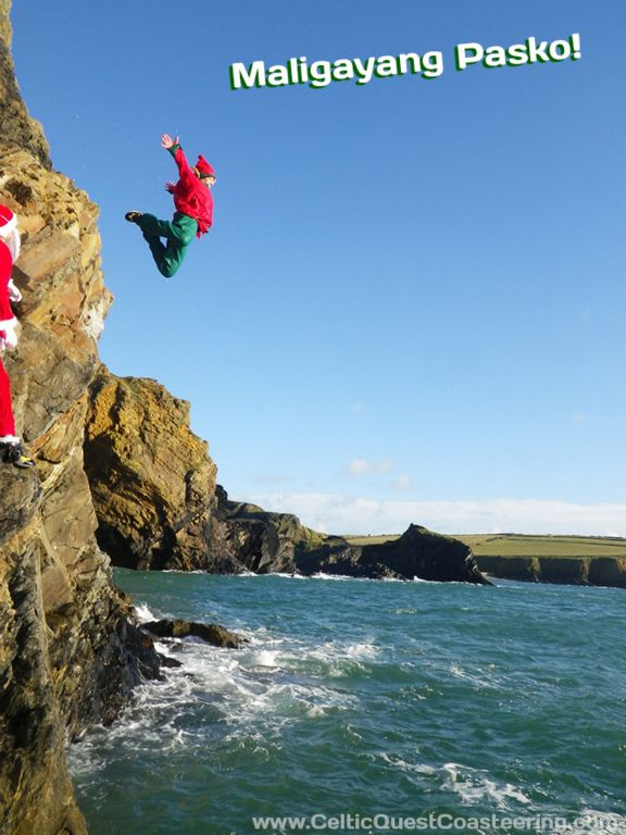 Show someone you really care this Christmas… throw them off a cliff!