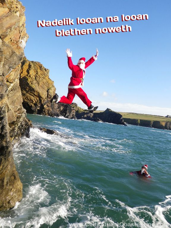 Coasteering experience days are certainly a cool Christmas gift