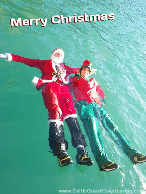 Looking for Christmas gifts with a difference…. Coasteering is an unforgettable adventure