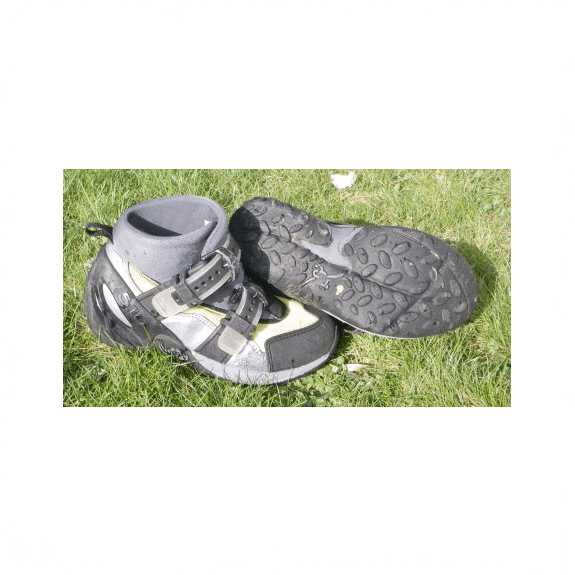 Canyoneer 5:10 Boots worn by Celtic Quest Coasteering Guides