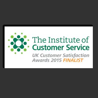 ICS Institute of Customer Service - UK Customer Satisfaction Awards 2015 - Customer Focus Award SME - Finalist