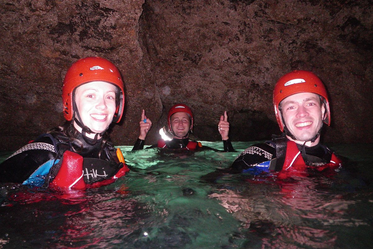 Explore sea caves. At low tide swim through sea caves, visit Pembrokeshire's hidden secrets!