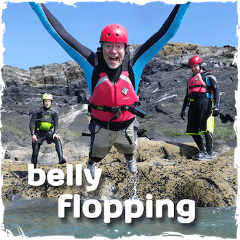 Belly Flopping into the Pembrokeshire Coast National Park