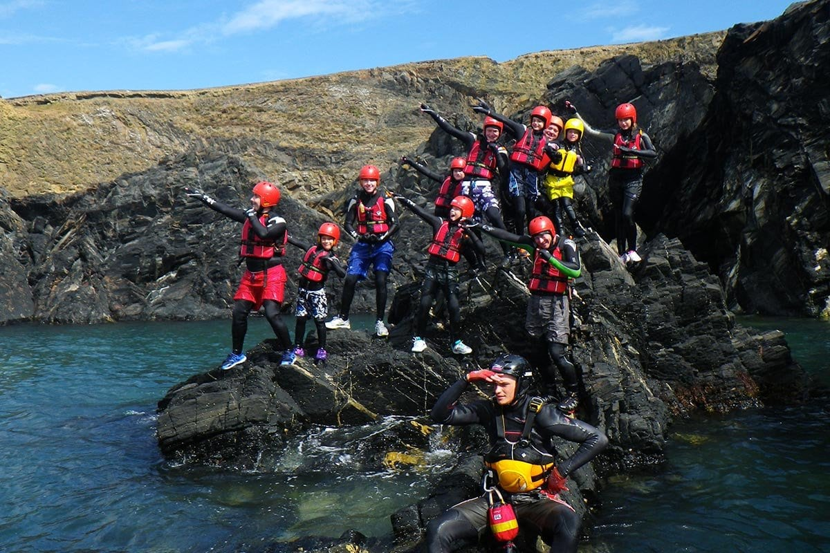 An exciting day out for youth groups, clubs, cadets and scouts. Adventure activity in Wales