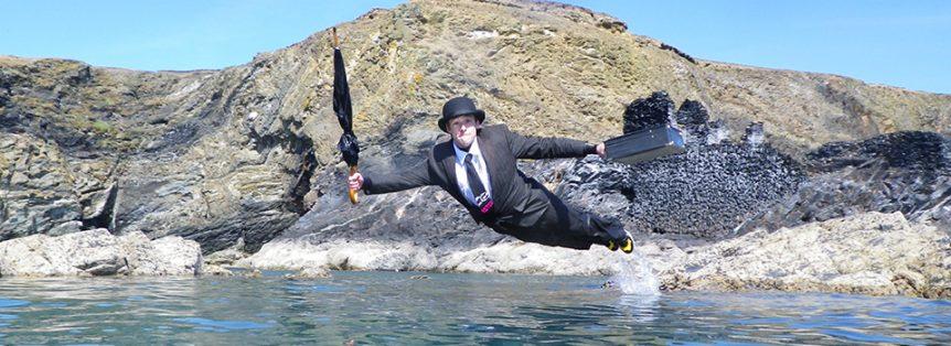 Corporate events Coasteering in Pembrokeshire