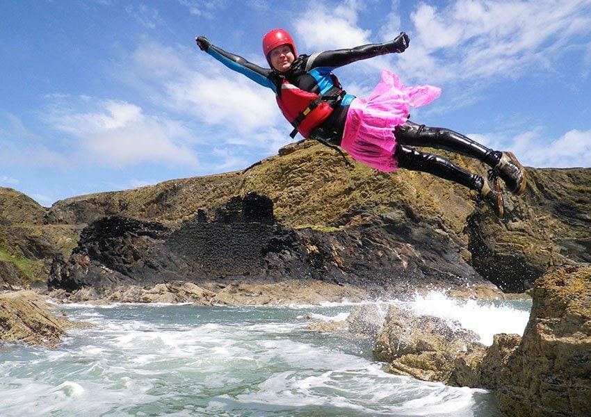 Coasteering, a fantastic Stag weekend adventure in Wales