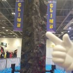 Odin Events Climbing Tower at Outdoor Show 2016