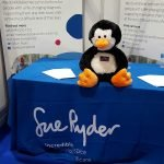 Met some fab folks from Sue Ryder