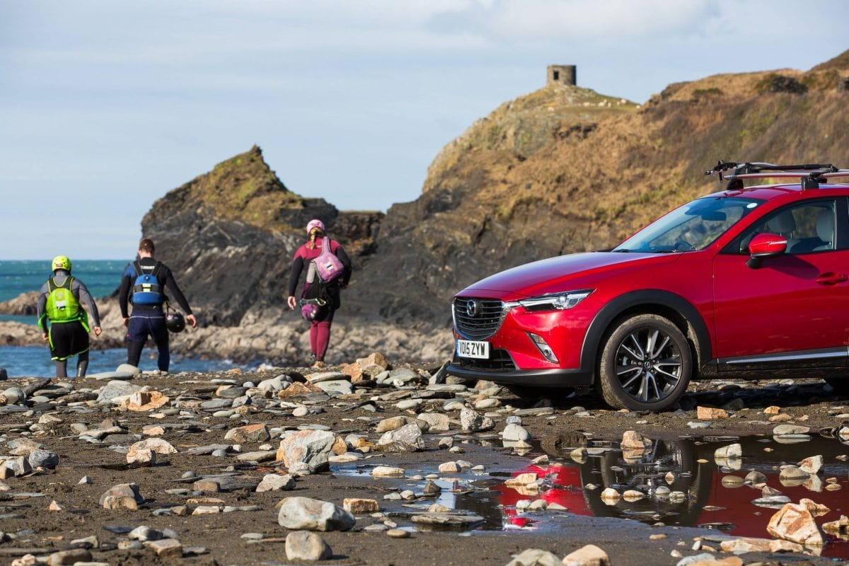 Mazda CoastalX CX3 tour visits Wales