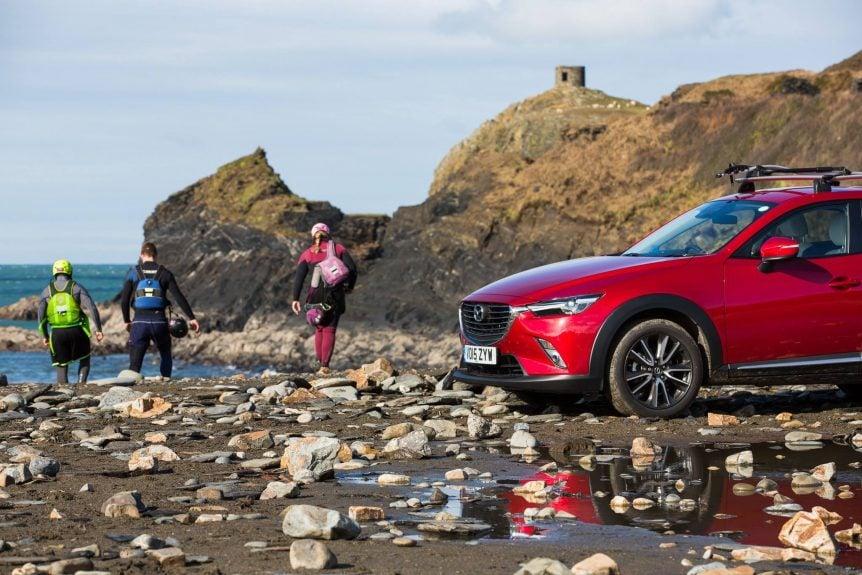 Mazda CoastalX CX3 tour visits Wales