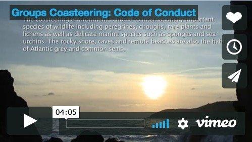 Groups Coasteering - Code of Conduct Movie Video