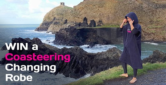 WIN a Coasteering Changing Robe