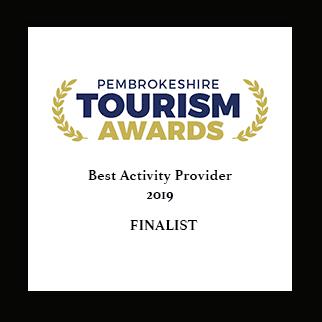 Pembrokeshire Tourism Awards 2019 - Best Activity Provider Finalist
